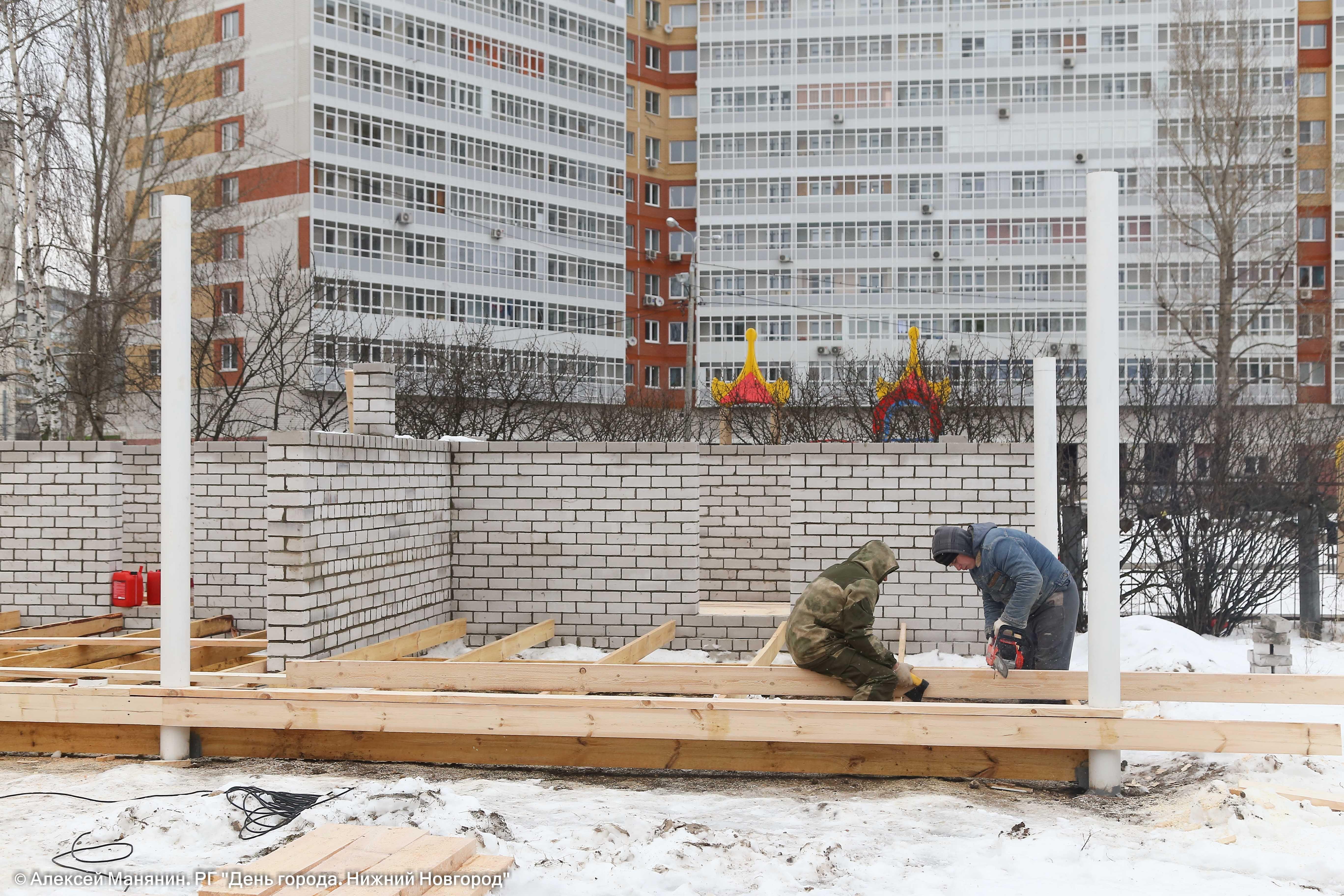 Наулице Сергея Есенина вНижнем Новгороде будет работать новый детский парк