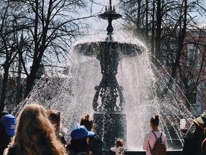 В Нижнем Новгороде открылся главный фонтан (ФОТО)