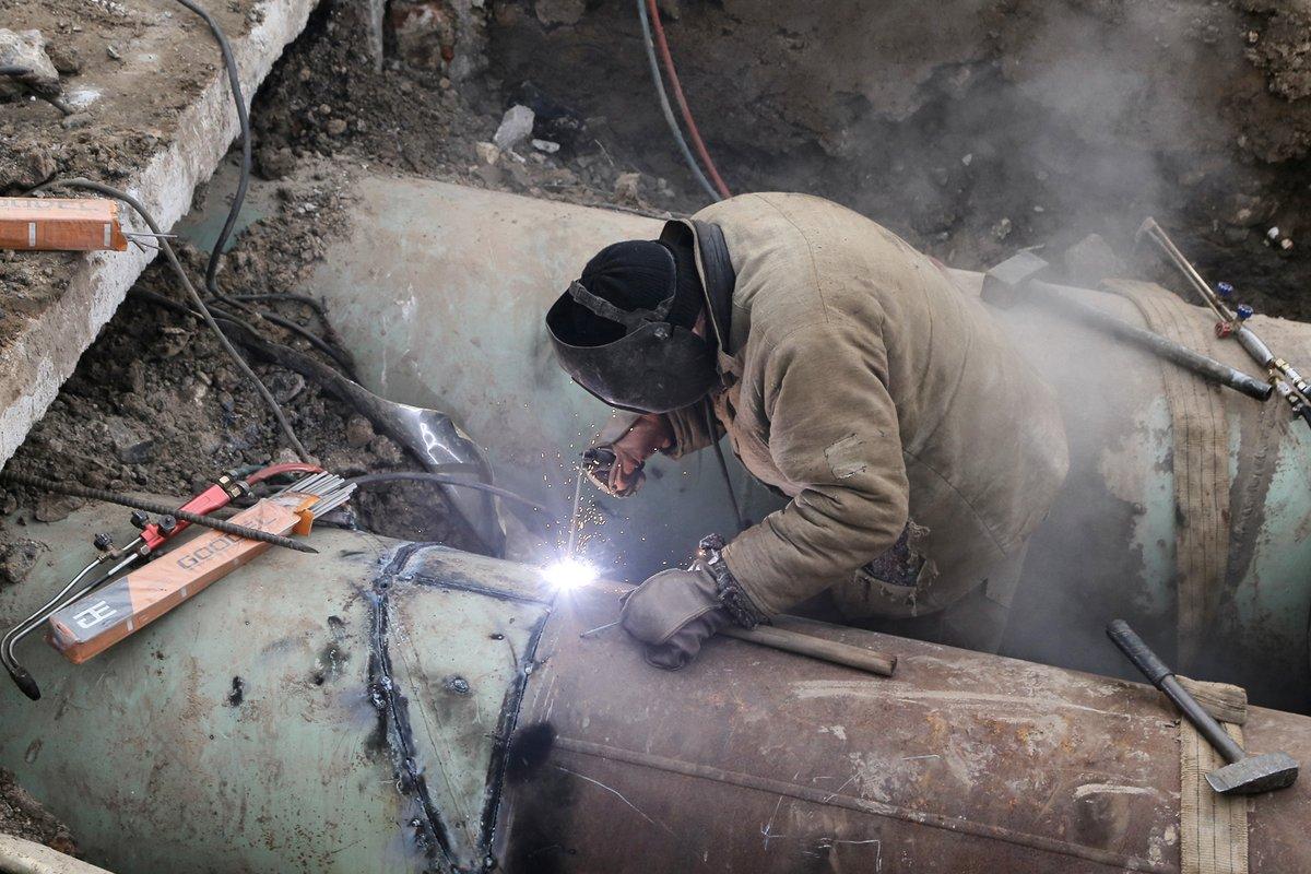 Снабжение теплом социальных объектов в Советском районе восстановлено после повреждения - фото 1