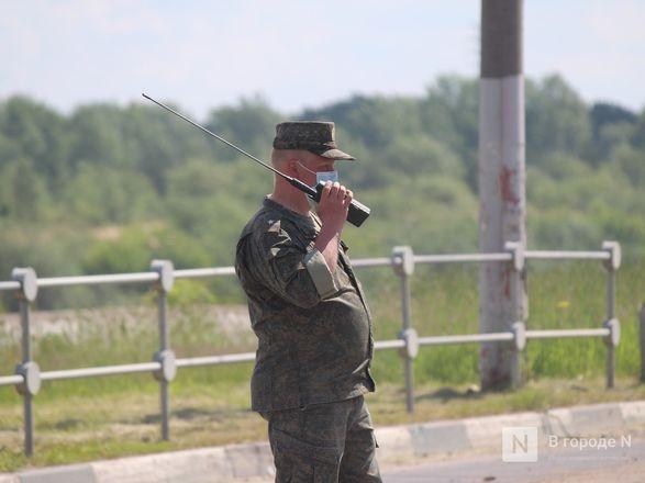 Танкисты в масках: первая репетиция парада Победы прошла в Нижнем Новгороде - фото 38