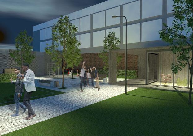 Универсальная спортплощадка с ворк-аут зоной и зоной для отдыха появится во дворе Мининского университета.  - фото 2