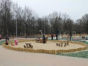 Парк «Дубки» Ленинского района будет готов в начале декабря