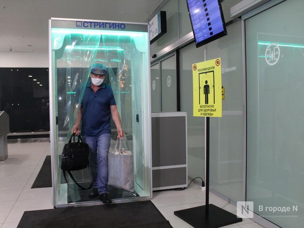 Уникальные дезинфекционные тоннели появились в нижегородском аэропорту - фото 1