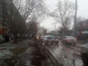 Массовое ДТП на улице Гордеевской: пьяный водитель уходил от полиции (ФОТО)