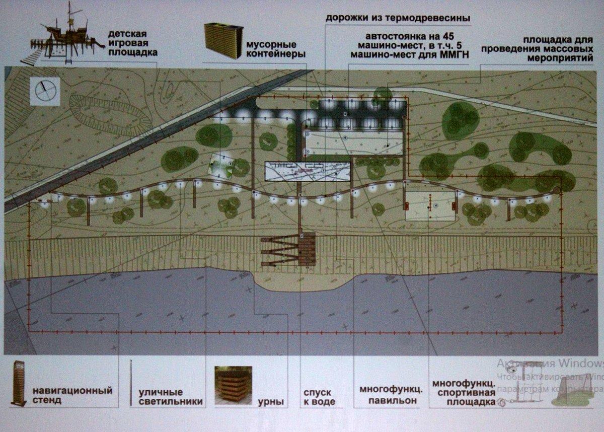 Площадка-корабль и бассейны: как преобразятся Печерские пески - фото 2