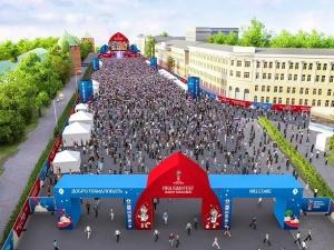 Опубликована карта-схема Фестиваля болельщиков FIFA в Нижнем Новгороде