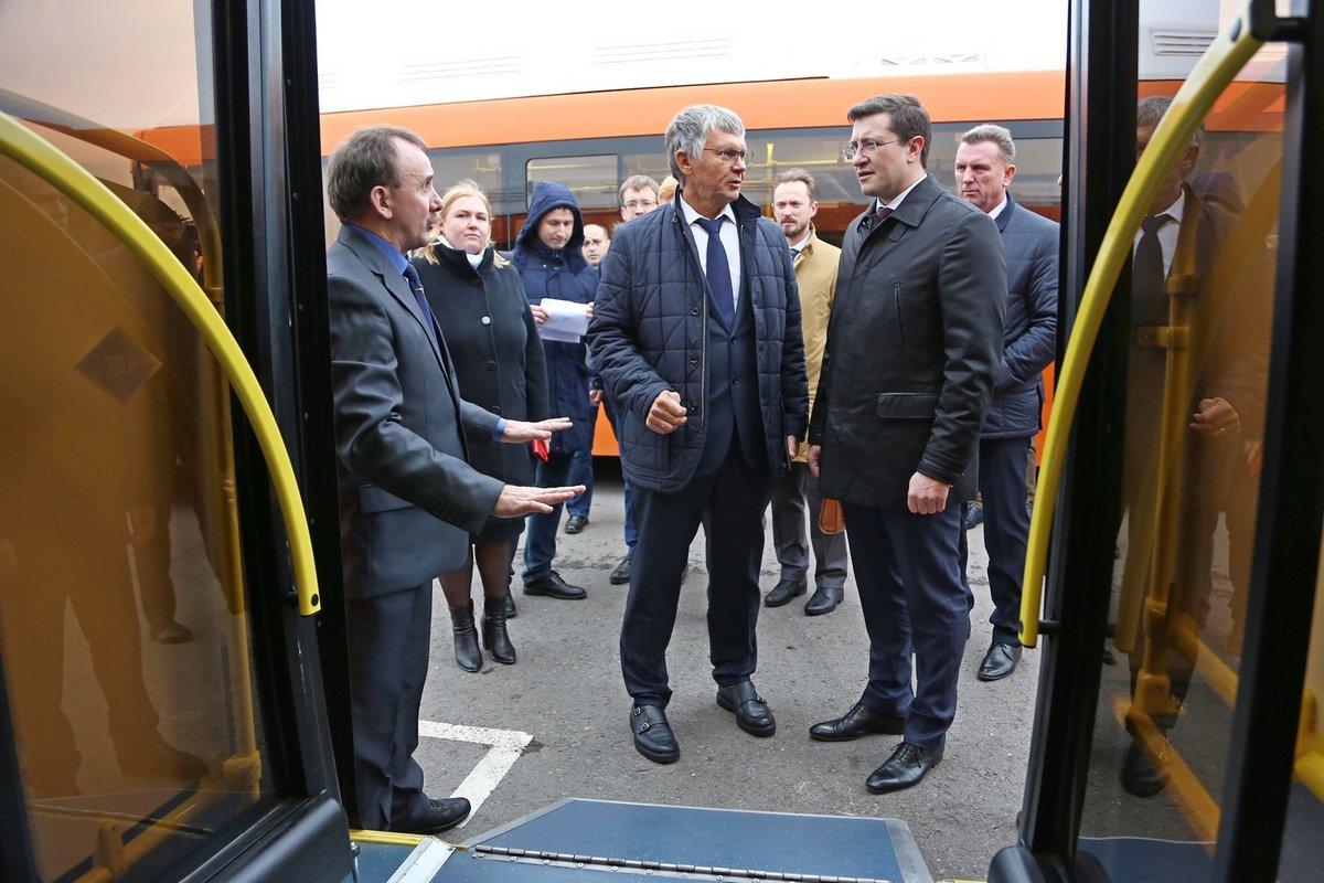 56 новых автобусов прибыли в Нижний Новгород в День народного единства - фото 2