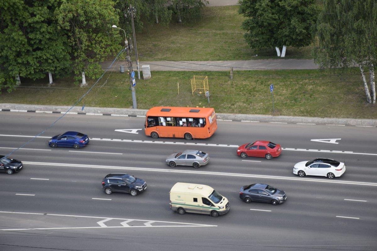 Выделенная полоса на проспекте Гагарина сократила автобусам время в пути - фото 1