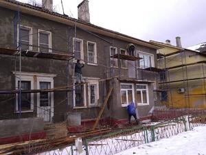 В Автозаводском районе начался ремонт фасадов (ФОТО)