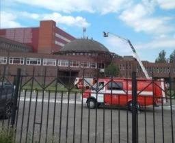 Во время пожара в Кстовской академии самбо эвакуировали более 400 человек