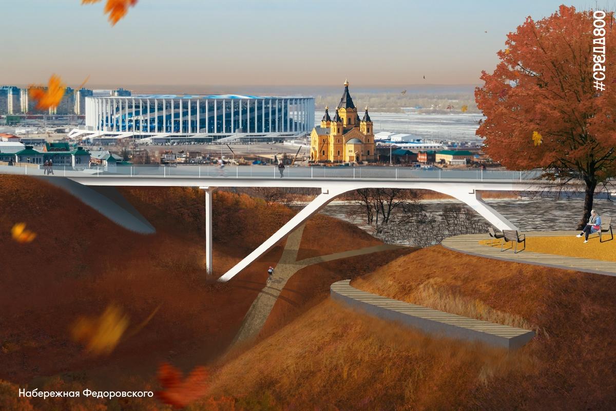 Амфитеатр и площадку для слэклайна предлагают установить на набережной Федоровского - фото 1