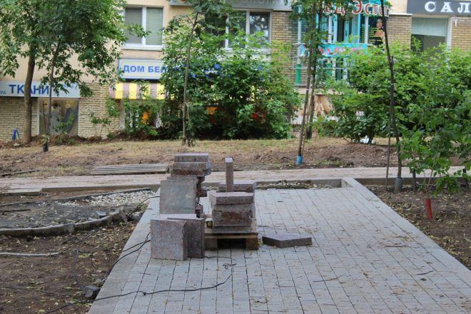 Не прошло и года: нижегородские скверы нужно благоустраивать заново - фото 42