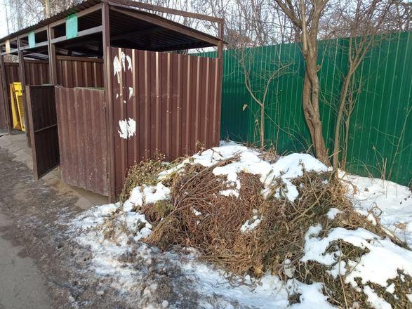 Нарушения выявлены на 8 контейнерных площадках в Приокском районе - фото 5