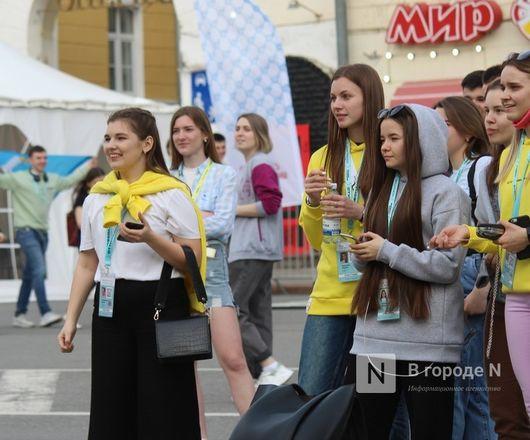 Молодость, дружба, творчество: как прошло открытие «Студенческой весны» в Нижнем Новгороде - фото 45