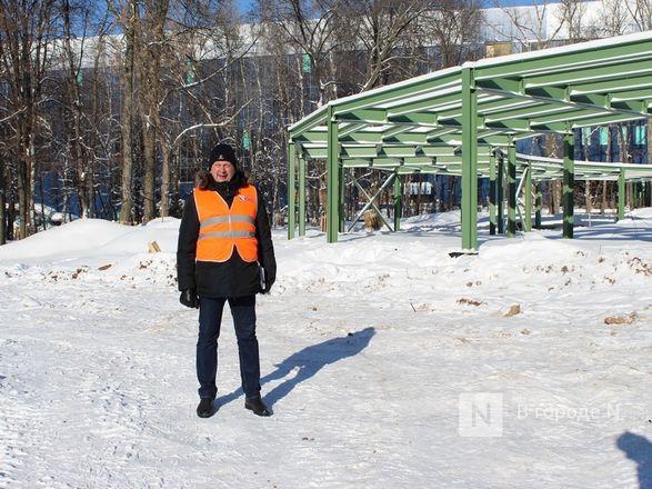 Более 240 рабочих благоустраивают нижегородскую «Швейцарию» - фото 13