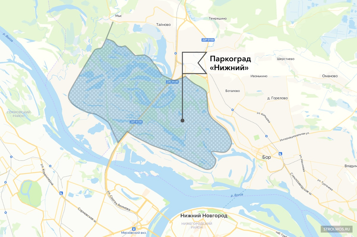 Паркоград «Нижний» вместо Globe Town: представлен новый проект застройки Борской поймы - фото 2