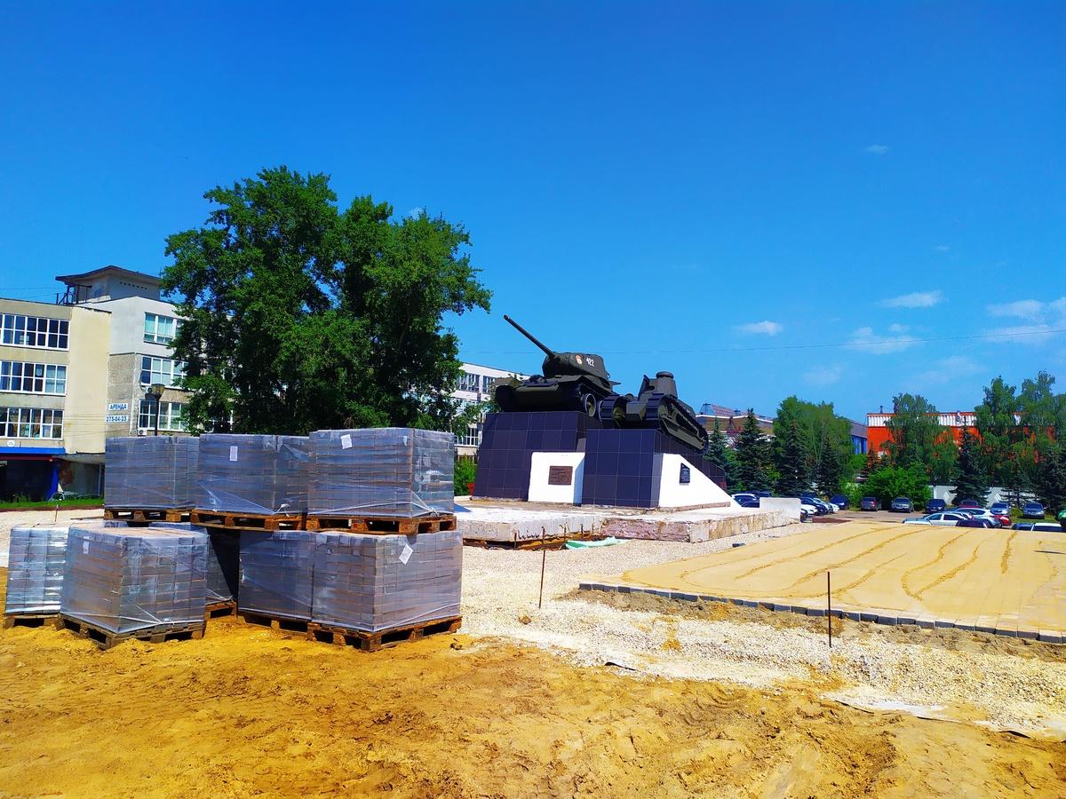 Старое покрытие на площади Славы в Сормове демонтировано на 90% - фото 1