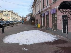 Надпись «Навальный» на снегу продолжает творить чудеса в Нижнем Новгороде
