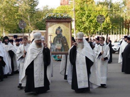 Торжества в честь преподобной Олимпиады Киевской и Арзамасской проходят в Нижегородской области - фото 1