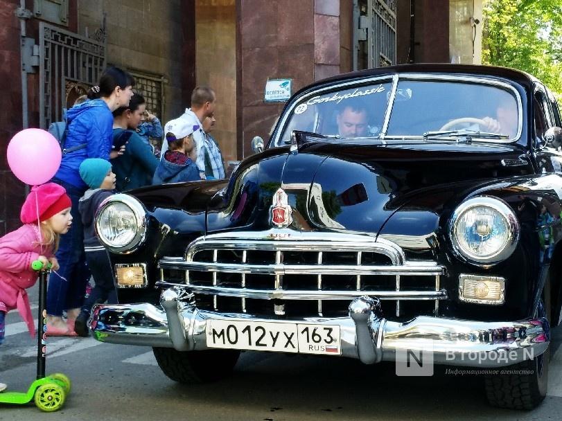 Нижегородцы смогут посмотреть на ретро-автомобили в рамках фестиваля «Горький Классик Нижний 800» - фото 1