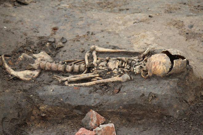 Новые находки на старом кладбище: что обнаружили археологи в Нижегородском кремле - фото 28
