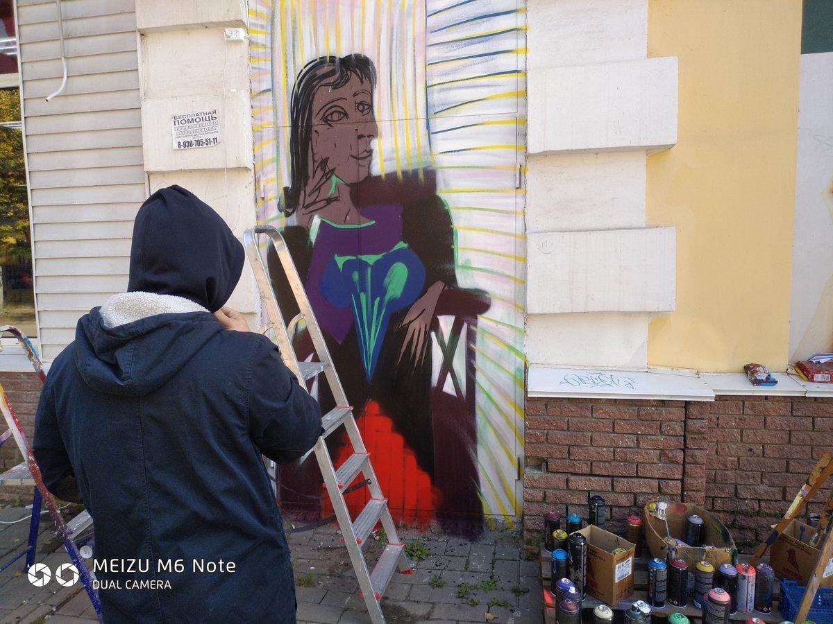 Полотна Пикассо появились на улицах Дзержинска - фото 1