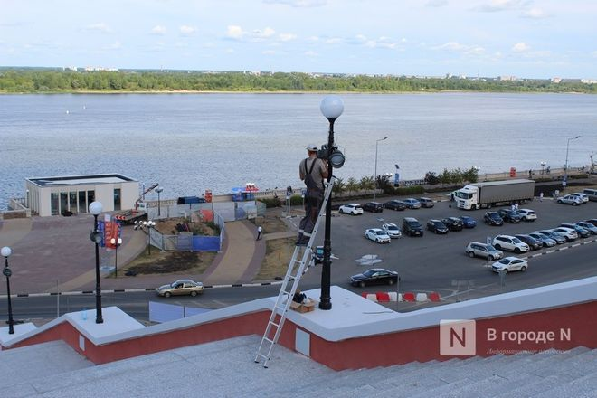 Чкаловскую лестницу открыли, несмотря на продолжающиеся ремонтные работы - фото 27
