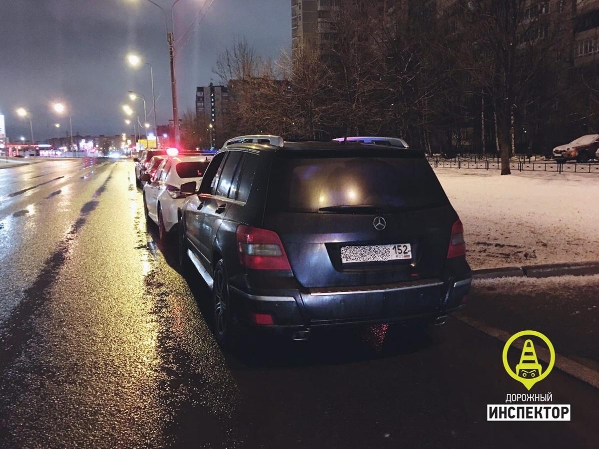 Пьяный нижегородец устроил гонку с полицией в Санкт-Петербурге - фото 1