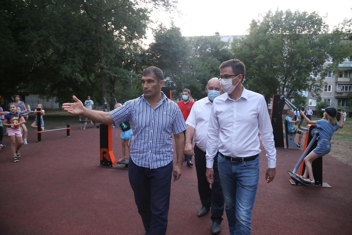 Новый подрядчик пообещал благоустроить сквер на улице Пермякова в срок - фото 1
