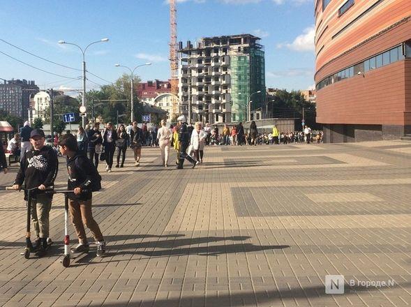 Посетителей нижегородского ТЦ «Небо» эвакуировали из-за звонка о бомбе - фото 4