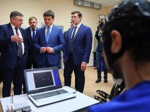 Разработки нижегородских ученых представили министру науки РФ Михаилу Котюкову