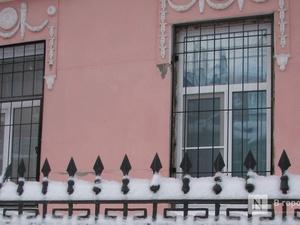 Лепнина исчезла с фасада усадьбы в Холодном переулке в ходе ремонта