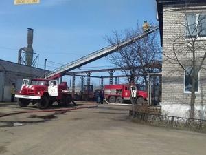 Девять человек эвакуировали из-за пожара в Ленинском районе