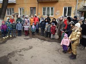 Детская площадка может появиться на улице Ошарской