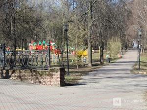 Новые урны и скамейки планируется установить в парке имени Кулибина