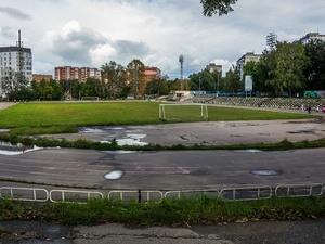 Территорию вокруг стадиона «Водник» реконструируют не раньше 2019 года