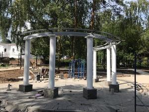 Благоустройство сквера «Звезда» завершается в Советском районе