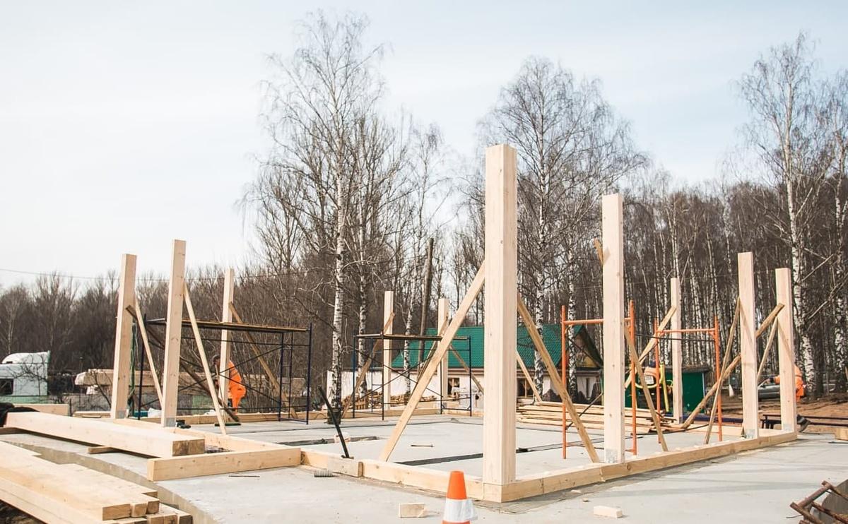 Установка спортивного кафе началась в нижегородском парке «Швейцария» - фото 1