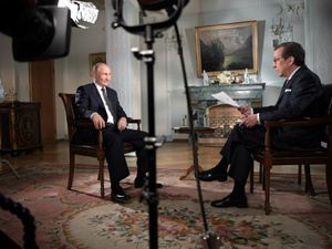 Усилия по изоляции России не могли увенчаться успехом: Путин дал большое интервью американскому телеканалу Fox News