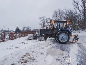 Снегопад обрушился на Нижний Новгород 30 декабря