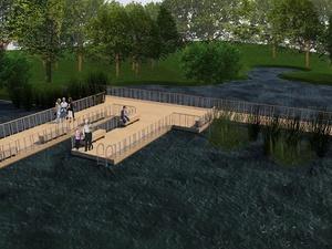 Проект благоустройства двух озер Щелоковского хутора презентовали нижегородцам