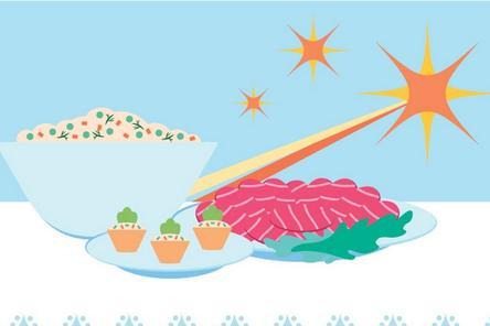 Успеть до двенадцати: новогодний стол в лучших традициях года Желтой свиньи