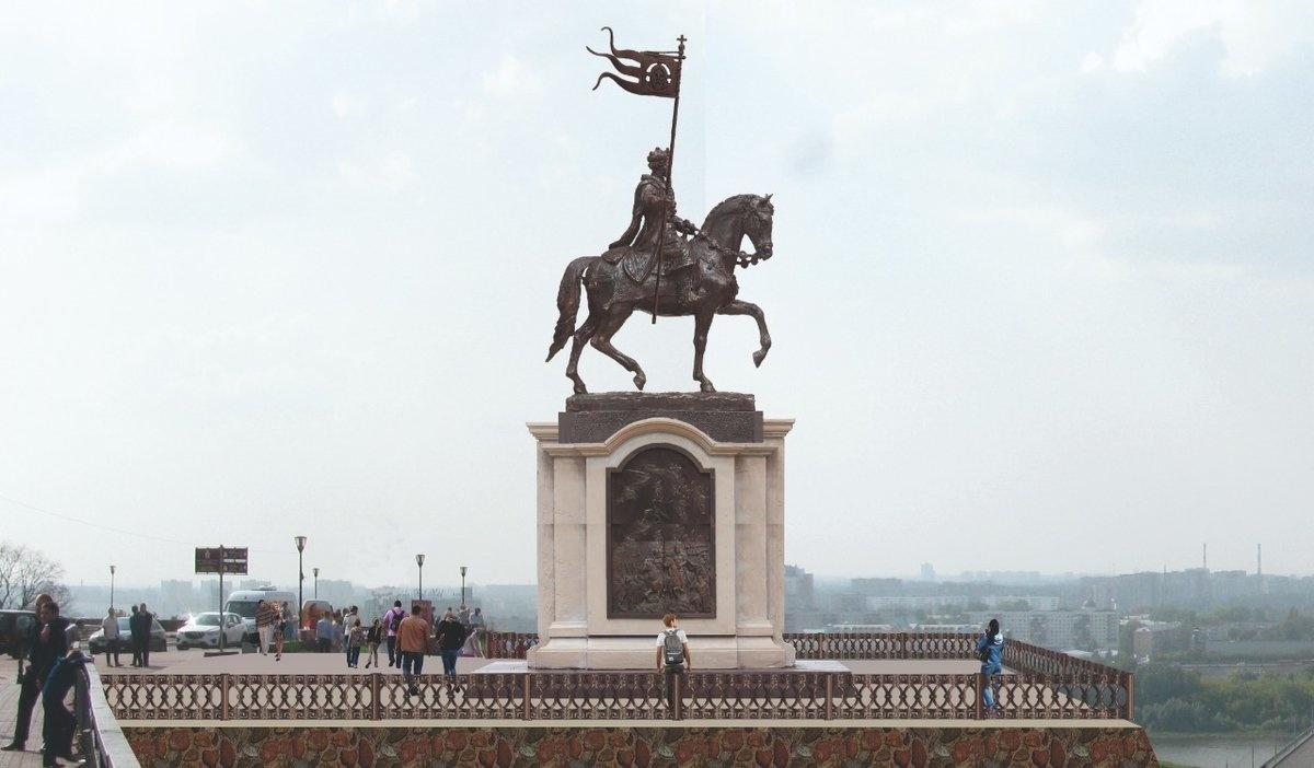 Эскиз будущего памятника Александру Невскому выберут нижегородцы - фото 1