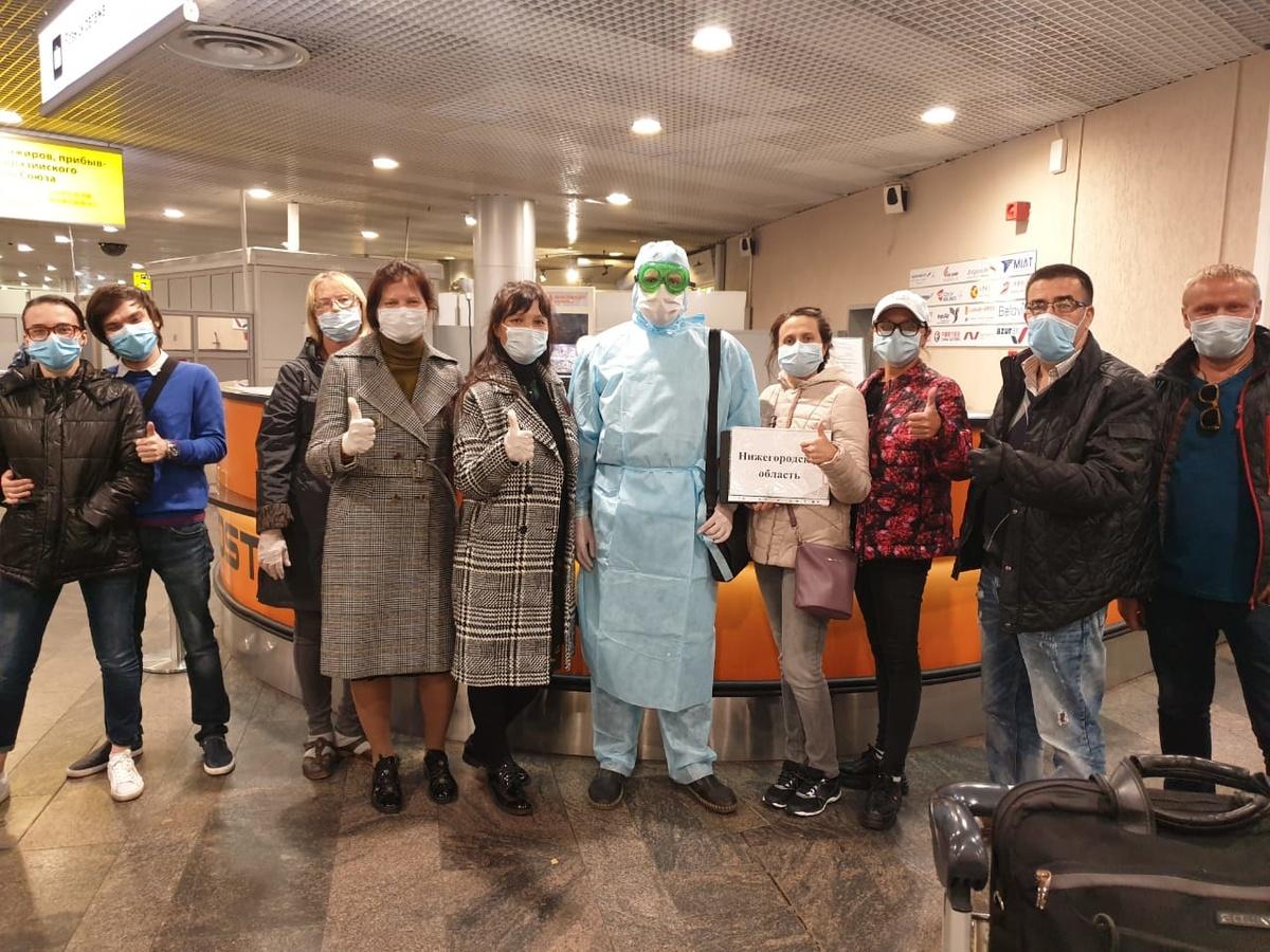 Еще 37 нижегородцев вернулись из-за границы - фото 1